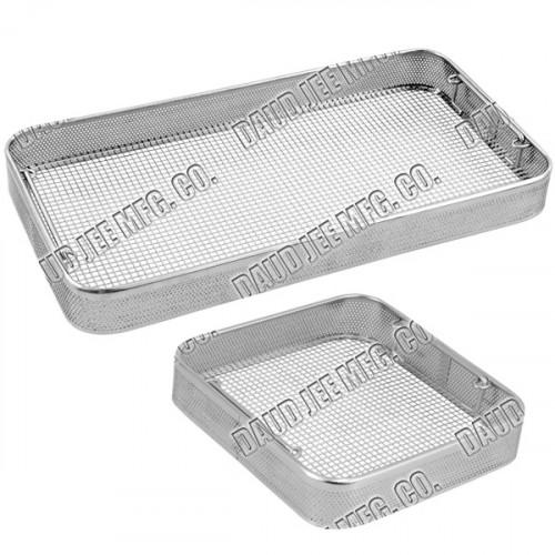 DJ-4545-Din Baskets Side Perforated Flat Base