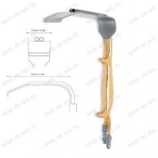 DJE-1630-Tebbetts Fiber Optic Breast Retractor